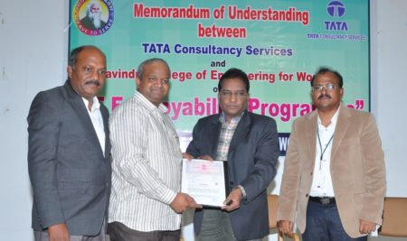 MOU WITH TCS